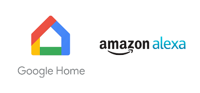 Compatible con Google Home y Amazon Alexa