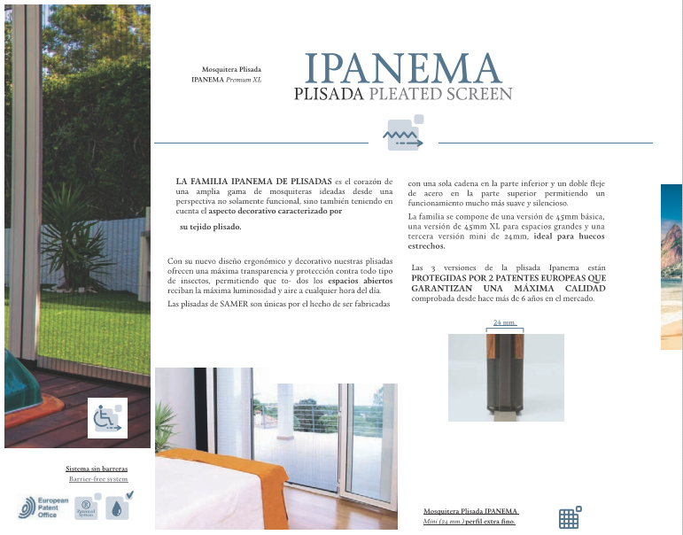 Plisadas Ipanema Barcelona